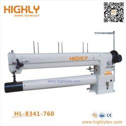 Doppelte Nadel-Zylinder-Bett-einstimmig-Zufuhr-Hochleistungsnähmaschine