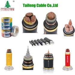 耐火性適用範囲が広い銅のコンダクターAC/DCか証拠の炎-抑制剤XLPEのPVCによって絶縁されるアルミニウムによって保護される編みこみの制御ケーブルケーブルの電気か電線