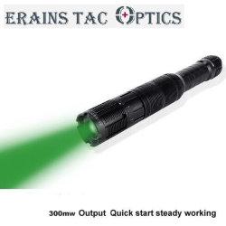 Tac Erains Ótica Novo Design Ajustável do feixe 300MW de potência elevada Laser Verde tácticas de Longo Alcance Iluminador Designador de lanterna Lanterna repelente de gripe aviária