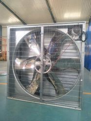 """50 de """" Gegalvaniseerde Ventilator van de Uitlaat voor het Huis van het Gevogelte"""