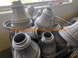 Gussaluminium Polen Yard-Lampen-Pfosten-hellen Pole-/Outdoor/Gussaluminium-Lampen-Pfosten-Unterseite