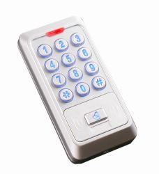 Teclado de metal de la puerta de la RFID independientes del controlador de acceso Sistema de Control de acceso