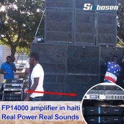 Poids léger de haute qualité FP14000 à 2x2400watts/8Ohm amplificateur de puissance pour la vente à chaud