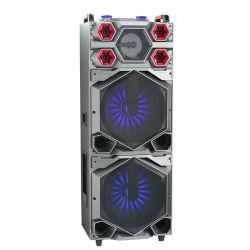 Alta potência Dual 15polegadas portátil de graves da música do amplificador de altifalante com EQ