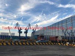 Sw-Zp018 patio puerto de mar de viento de acero de alta Stong romper la pared de esgrima