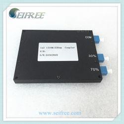 Оптоволоконный разветвитель FTTH кабельного телевидения (1X2 1310/1550 нм FOM муфта)