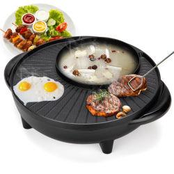 、熱い鍋(SX-35)が付いている焼かれた揚がる、多機能の調理器具沸かされた栄養物の電気グリル