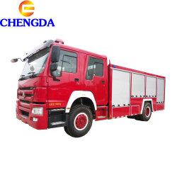 Neuer Sinotruk HOWO 6X4 6X6 Airport Wasserpumpe Feuerlöscher Feuerwehrwagen Preis Feuerwehrwagen