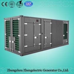 320KW/400kVA a 50Hz Doosan insonorizadas Contenedor de remolque generador diesel de emergencia