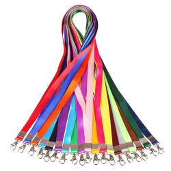 Marca de merchandising Bocal Personalizado fibra de poliéster chicotes com logotipo impresso o titular do cartão de identificação