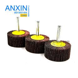 La trampilla de montada la rueda con 6mm mango de 6,35 mm de luz para el desbarbado