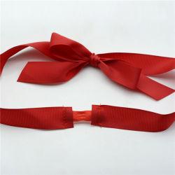 Polyester 1 pouce de ruban de satin Bow pour bouteille délicate décoration