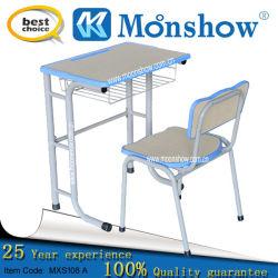 Solo escritorio y silla para la escuela Fueniture
