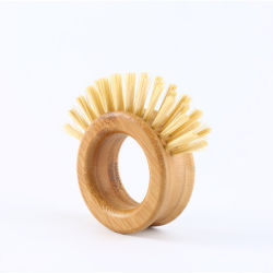 Maniglia di bambù di spazzola della cucina degli strumenti di verdure di pulizia per la spazzola 3145 dei POT del dispersore della vaschetta