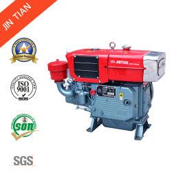 Niedriger Kraftstoff-kleiner Verbrauchs-Dieselmotor mit einzelnem Zylinder (ZS195NL)