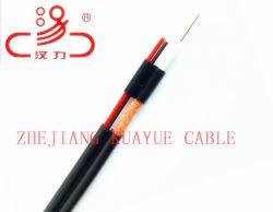 合成ケーブルRg59同軸Cable+2cの電源コードワイヤー