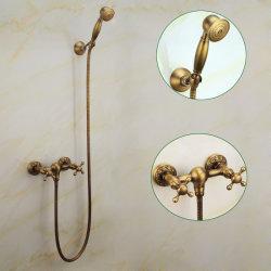 Flg старинной струей воды душ, крепится к стене ванной комнаты