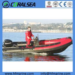 Barca di ricreazione gonfiabile della nervatura per gli sport di acqua Hsf520