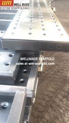Pont métallique en acier d'échafaudage de planches de planches Walkboard échafaudage plate-forme d'administration