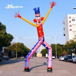6m hohe bunte Doppel Bein Aufblasbare Lufttänzer für Werbung