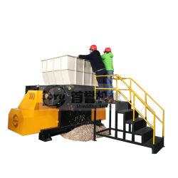 木製のシュレッダーか木製の快活なシュレッダー機械または木パレットシュレッダーまたは木製の単一シャフトシュレッダーまたは木粉砕機または木製の快活な押しつぶす機械