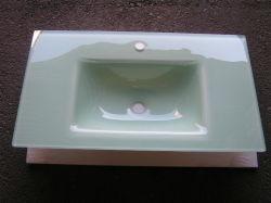Vidro temperado da bacia hidrográfica da bacia de banho dissipador de vidro