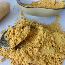 Casher Pure organique Halal de gingembre en poudre déshydratée