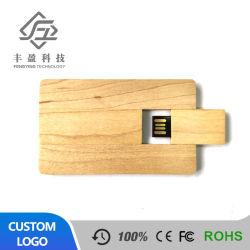 Disque Flash USB 2.0 Flip bois push-pull Card USB Pen Drive
