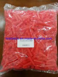 El color rojo Tapón de caucho de silicona plana Fsc para recubrimiento de polvo
