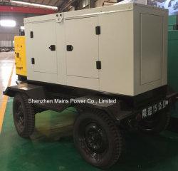 45kVA 36kw Alimentación Emergencia Móvil Generador MC45D5T Cummins Diesel Tráiler
