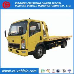 China 3toneladas rebocar o veículo de reboque Underlift, 4t 5toneladas 6toneladas corpo de reboque plataforma plana preço do veículo de reboque