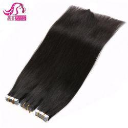 최고의 판매량 6A7a8a 품질 100% 중국에서 만든 인간 모발 저렴한 테이프 헤어 익스텐션