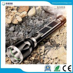 Lampe torche à LED multifonction portable Self-Help torche Chargement solaire USB Linternas projecteur d'alimentation de secours d'activité de champ