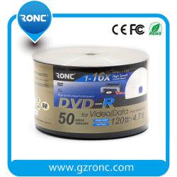 16X DVD-R da marca de Prata Discos de mídia de DVD (50 Pack)