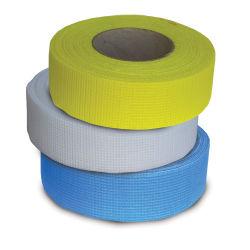 Paneles de Yeso cinta autoadhesiva de fibra de vidrio común para los paneles de yeso, yeso Junta Wallboard