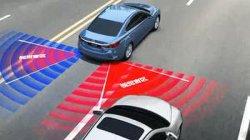 Voiture Blind spot detection (BSD / BSIS) Système de radar à micro-ondes pour alerte de collision latérale et arrière
