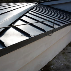 Престижный материал крыши титановые пластины цинка постоянного стык панели