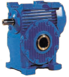 El Gusano de coa el reductor de engranajes de transmisión de la caja de velocidades con eje hueco