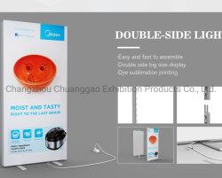 공구 없이 사용할 수 있는 SEG 텍스타일 프리스탠딩 프레이밍 패브릭 LED 조명 상자