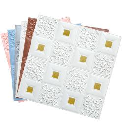 3D Stereo Wall Sticker schiuma Soft Pack soggiorno sfondo Adesivo decorativo