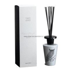 Elegante Blanco Casa perfumada la botella de cristal difusor de fragancia para hombres Don