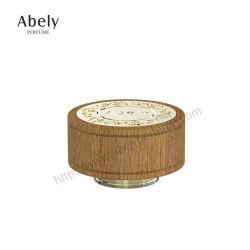 OEM de Houten Dekking van de Grootte van de Cilinder voor Parfum