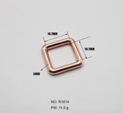 Draht-Kasten Zink-Zink Legierung der Befestigungsteil-druckgießenzubehör-6-Point runde, die quadratische Faltenbildung hängt