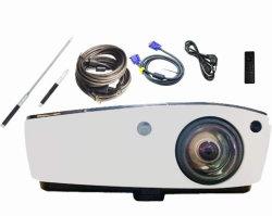 교육, 비즈니스 컨퍼런스를 위한 4,000루멘 Full HD 1080p 4K DLP 대화형 프로젝터