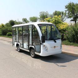 Bus di spola elettrico facente un giro turistico cinese di a buon mercato 11 Seater dell'aeroporto turistico della carrozza ferroviaria