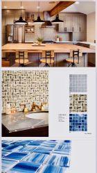كلاسيكيّة أسلوب [هيغقوليتي] [موسيك تيل] زجاجيّة/لوح لأنّ جدار في غرفة حمّام ومطبخ