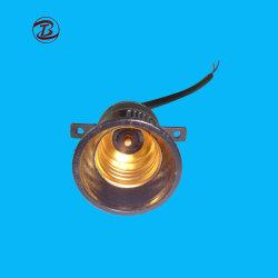2 cables de luz de la correa de LED E27 portalámparas con cable