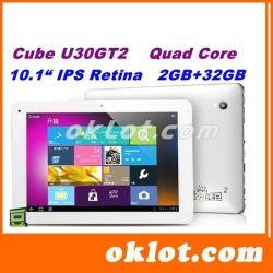 U30gt2 Rk3188 Quad Core 1.8 جيجاهرتز 10.1 بوصة FHD IPS Retina شاشة ذاكرة وصول عشوائي (RAM) سعة 2 جيجابايت 32 جيجابايت ذاكرة ROM (ذاكرة الوصول العشوائي