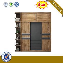 Chambre à coucher Mobilier de qualité supérieure en bois bon marché de la mélamine penderie placard