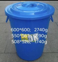 70L, 90 L. 110L, cubo de plástico de gran tamaño utilizados moldes